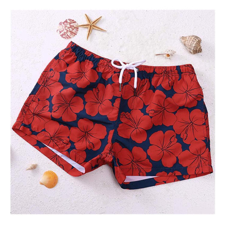 Mens Printed Board Shorts Quick Dry Beach Shorts Swim Trunks Male Bikini Shorts