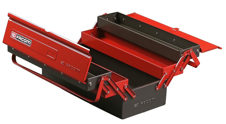 Caisse boite a outils 5 cases facom - Boite a outils facom ...