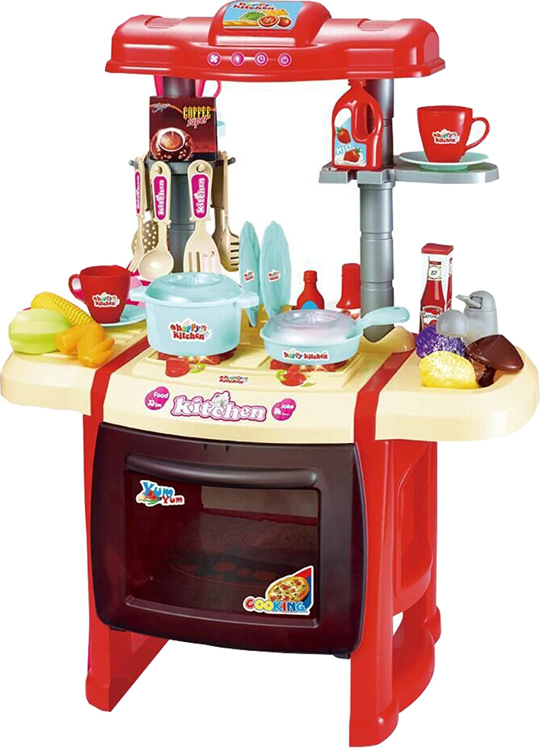 Webby Kitchen Set Kids Luxury Battery Operated Kitchen Sup