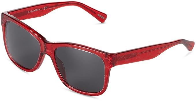 e8c5a40336 Dolce & Gabbana Gafas de sol Para Mujer 4158P/S - 266187: Bordeaux sobre