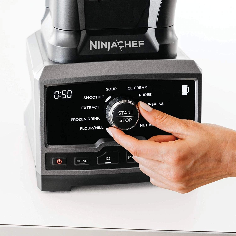 Ninja Chef Licuadora de alta velocidad 1500 watts - Negro (Renewed ...