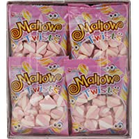 Tian's Confection Mallow Mini Twist Marshmallow Candy, 15 gm (Pack of 24)
