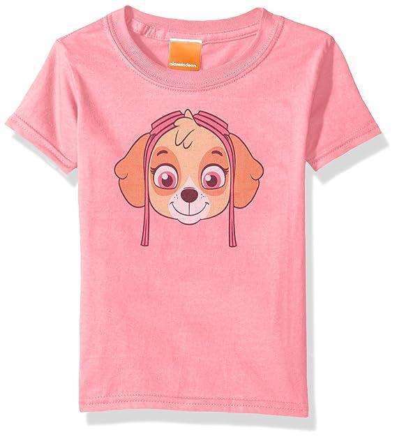 Amazon.com: Paw Patrol bebé Kids Skye Big Face Tee: Clothing