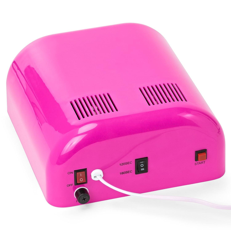 Salon Sundry - Profesional 36 W UV salón de belleza secador de uñas - varios colores disponibles: Amazon.es: Belleza