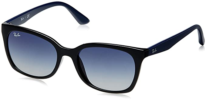 6bfb796acd Image Unavailable. Image not available for. Colour  Ray-Ban Gradient Square  Women s Sunglasses ...