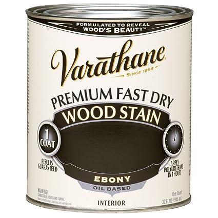 High Quality Varathane 269395 Premium Fast Dry Wood Stain, 32 Oz, Ebony