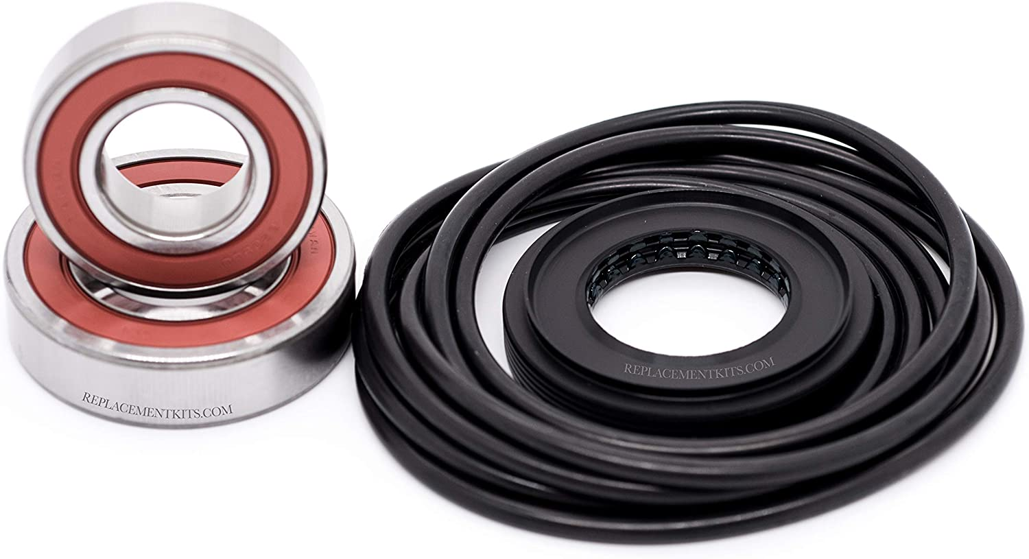 LG WM3001HWA Seal Kit for LG WM2101HW Kenmore//Sears 79640272900 Washer LG WM2487HWMA Compatible Front /& Rear Bearings