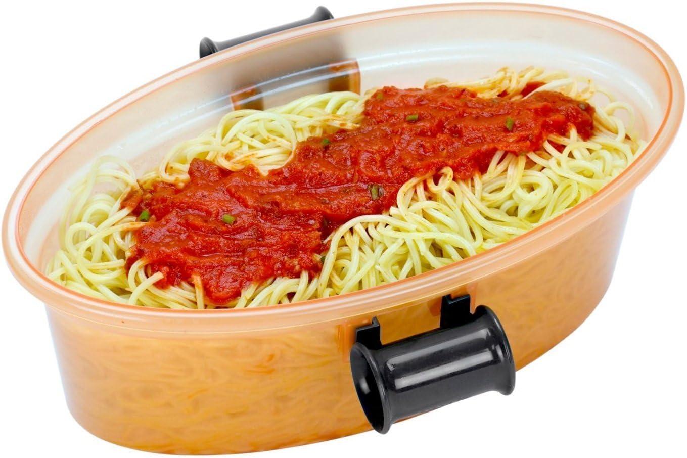 Amazon.com: Pasta N más microondas Pasta Cooker 5 piezas con ...