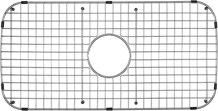 Serene Valley Sink Grid 26 13 16 X 13 3 8 Centered Drain With Corner Radius 3 Ndg2613c Amazon Com