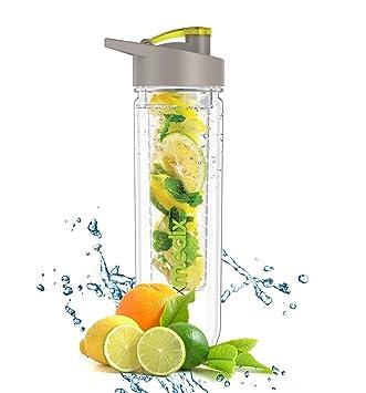 Premium Fruit Infuser Trinkflasche Infuser Water Bottle Für Detox