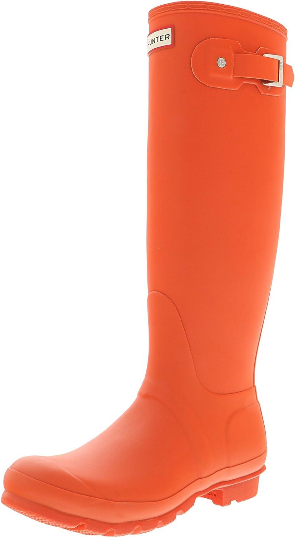 Hunter Women's Original Tall Rain Boot B01MUEXV7G 8 B(M) US|Orange