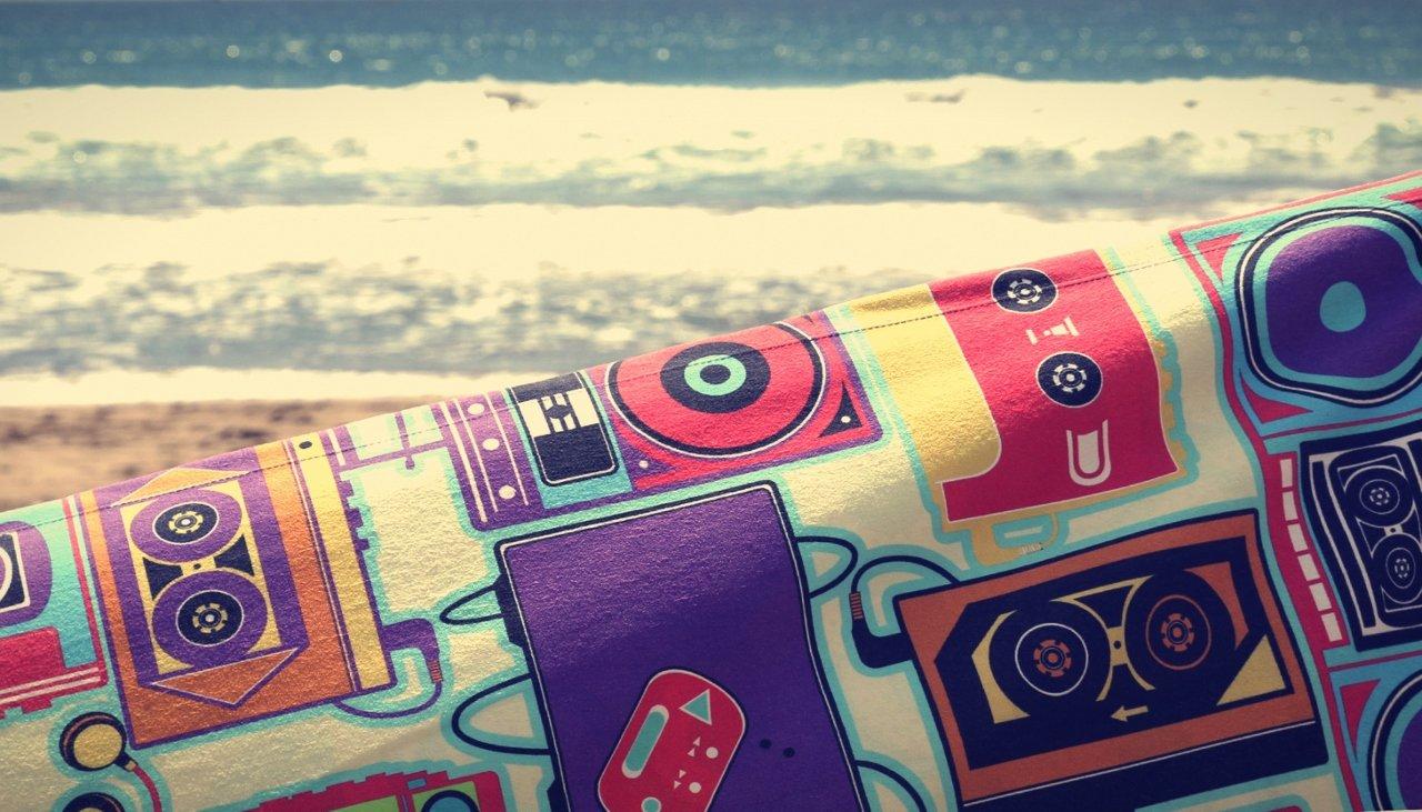 Bubel S130000048 - Toalla de playa (173 x 92 cm), diseño de barco: Amazon.es: Hogar