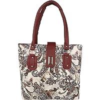 Meraki Sasha Women's PU Casual Purse Shoulder Bag (White)