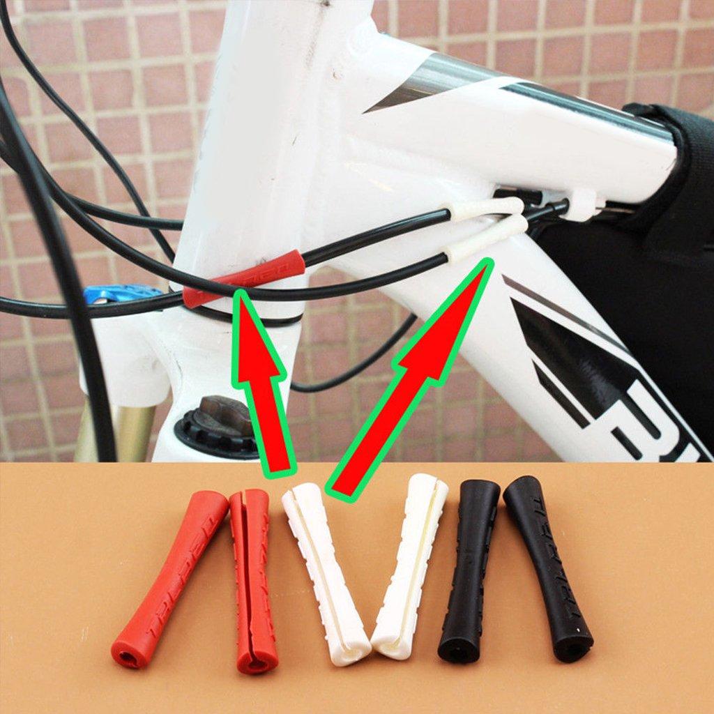 NON MagiDeal 5 Piezas de Manguito de Cable de Bicicleta Tubo de Cambio de Palanca Cubierta de Tubo Cubierta Protectora de Bicic