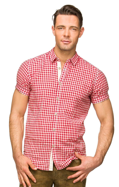 Trachtenhemd Connor rot