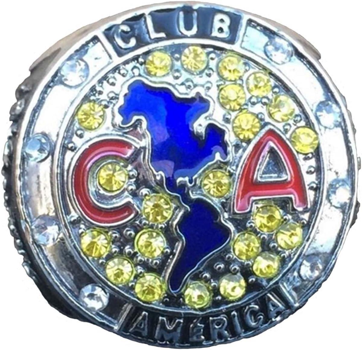 TuoYu CLUB AMERICA 100 A/ños de Grandeza Centenario Aguilas CF Championship Ring Trophy Prize