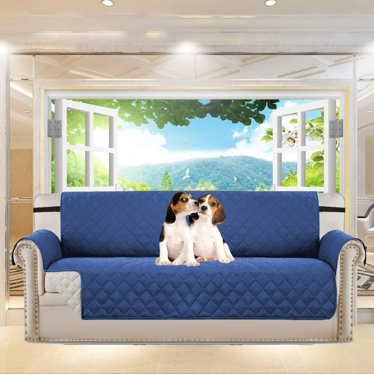YDL Pet Sofa Cover, Reversible Couch Cover For Dogs, Kids, Pets, Sofa  Slipcover Set Furniture Protector For 3 Cushion Couch, Recliner, Loveseat  And Chair ...