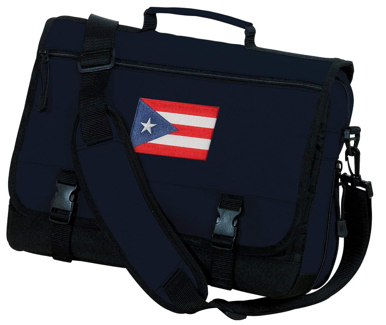 Puerto Rico Laptop Bag Puerto Rico Flag Computer Bag Messenger Bag