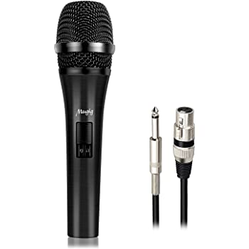 mugig vocal dynamic microphone with 20ft xlr cable cardioid unidirectional gold. Black Bedroom Furniture Sets. Home Design Ideas