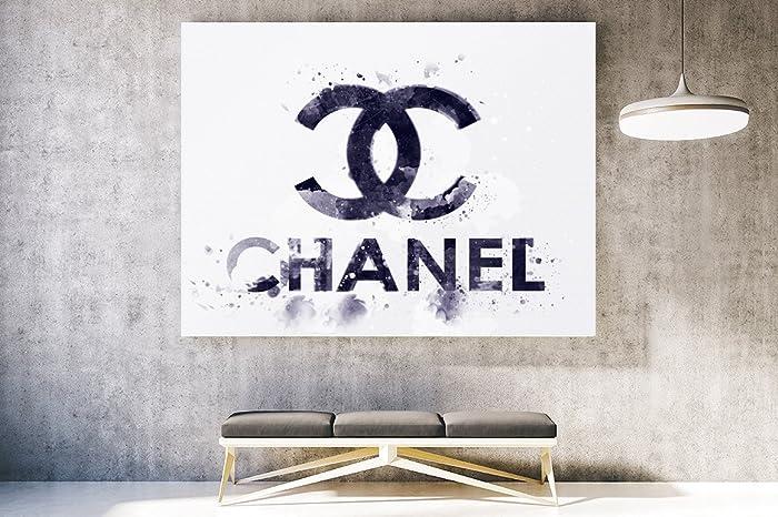 Amazon.com: Fashion wall pop art print - Illustration - Chanel ...