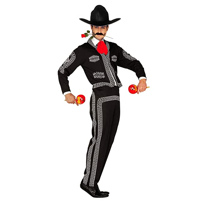 WIDMANN Widman - Disfraz de mariachi mexicano para hombre, talla M ...