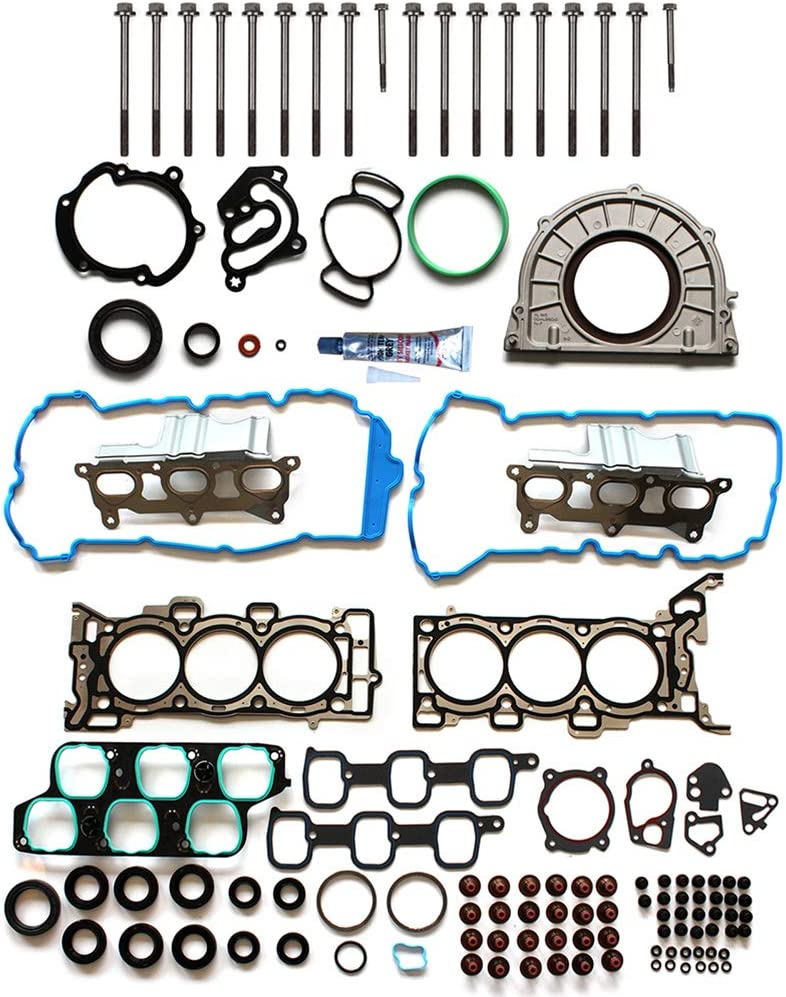 LSAILON Auto Parts CS54661 Engine Kits Lower Crankcase Conversion Gasket Sets Compatible with 2004-2015 for Buick for Cadillac for Chevrolet GMC Pontiac Saturn Suzuki