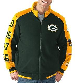 G-III Sports Green Bay Packers NFL Classic Men s Super Bowl Commemorative  Varsity Jacket d0be9a319