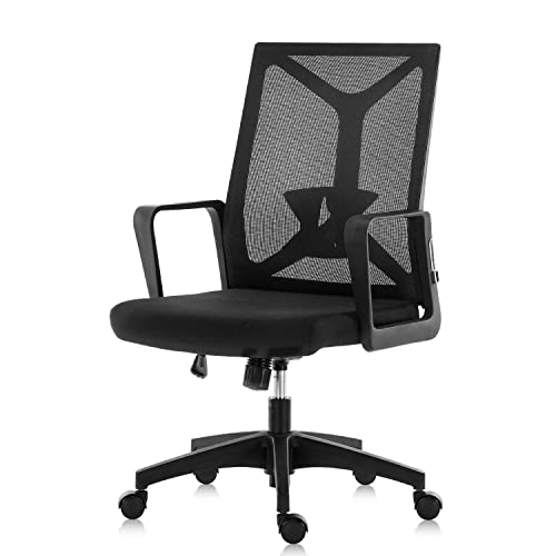 Gaming Chair High Back Office Chair, Racing Style Computer Desk Chair PU Leather, Executive and Ergonomic Adjustable Swivel Chair with Adjustable Arms and Lumbar Support Green and Black Black