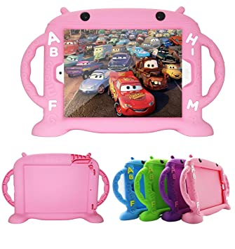 CHIN FAI Estuche iPad 2, Estuche para iPad 3, Estuche para iPad 4 - Estuche para iPad 2/3/4, Estuche de Silicona Lavable a Prueba de Golpes para niños ...