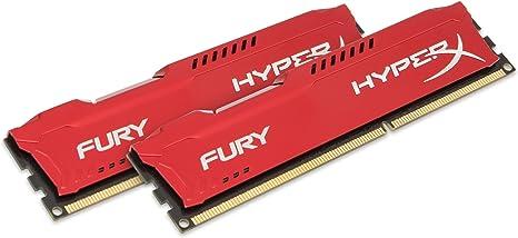For FuryHyperx 16GB 8GBX2 PC3-14900 DDR3 1866MHz 2RX8 240Pin 1.5V Memory Desktop