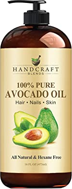 Handcraft Avocado Oil 16 fl. oz - 100% Pure and Natural