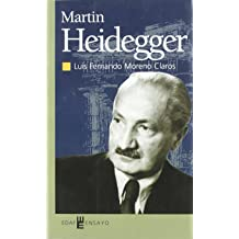 Martin Heidegger (Spanish Edition) Sep 9, 2002