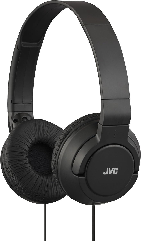 JVC HA-S180-B - Auriculares de diadema abiertos (estructura Ring, plegables, 10 - 22000 Hz), color negro