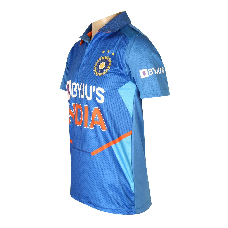 KD Cricket India Jersey Full Sleeve New BYJUS Team Uniform 2020-21