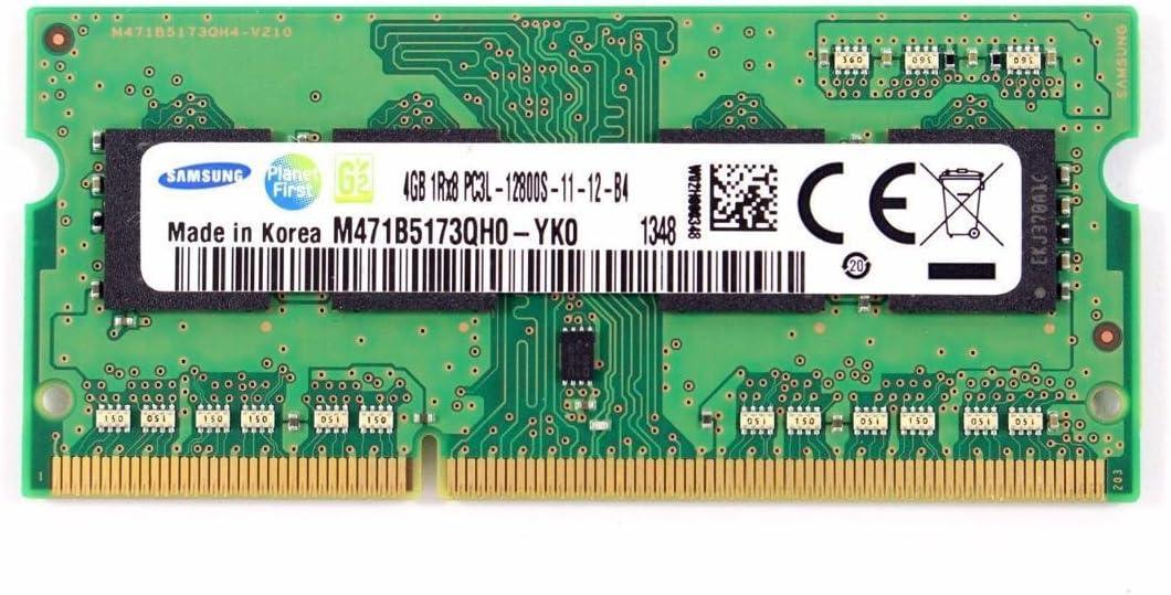 Samsung Laptop Memory 4GB 1Rx8PC3L-12800S-11-13-B4 M471B5173QH0-YK0