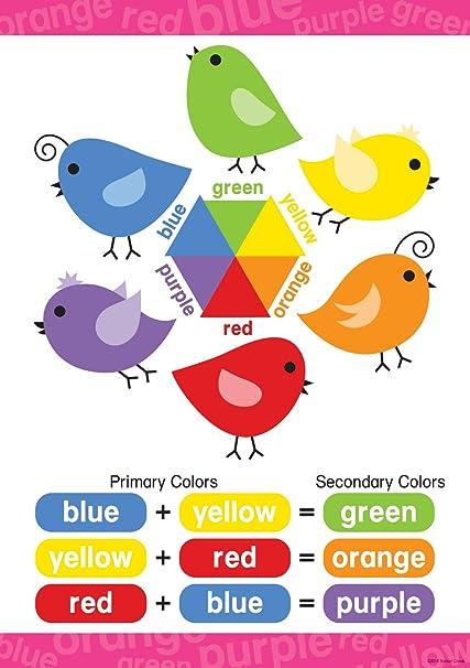 Colors For Kindergarten