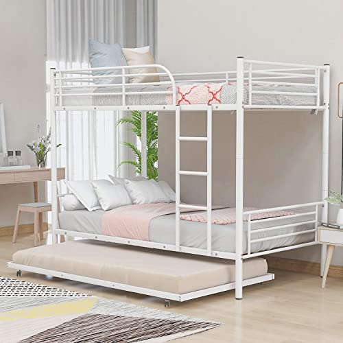 Depointer Life Metal Bunk Bed Twin Over Twin,Metal Bunk Bed