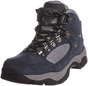 cc4c1a214e2 Amazon.com: HI-TEC 50 Peaks Denali WP Ladies Hiking Boots, Navy/Grey ...