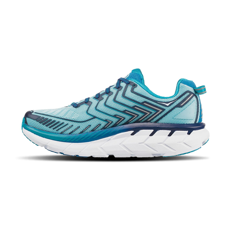 HOKA ONE ONE Women's Clifton 4 Running Shoe B01N2W4PVC women's size 6|Blue Topaz / Imperial Blue