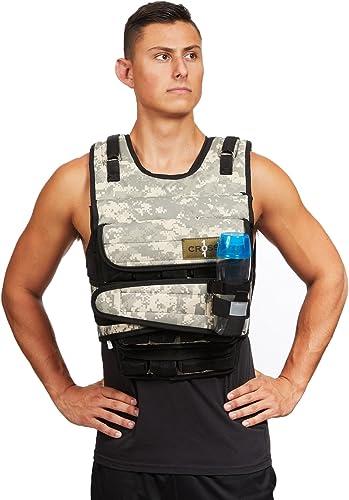 CROSS101 Arctic Desert Camouflage Weighted Vest 20lb