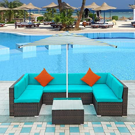Amazon.com: LZ LEISURE ZONE - Juego de muebles de patio de ...