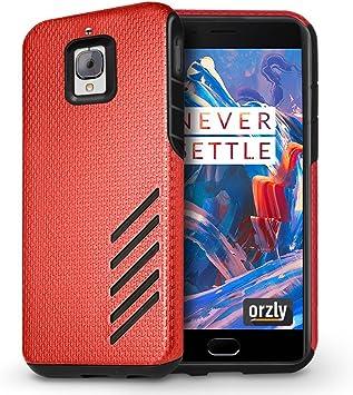 Orzly Funda OnePlus 3T / OnePlus 3, Grip-Pro Case para OnePlus 3 y OnePlus 3T Smartphone (Teléfono Móvil Modelo 2016: Amazon.es: Electrónica