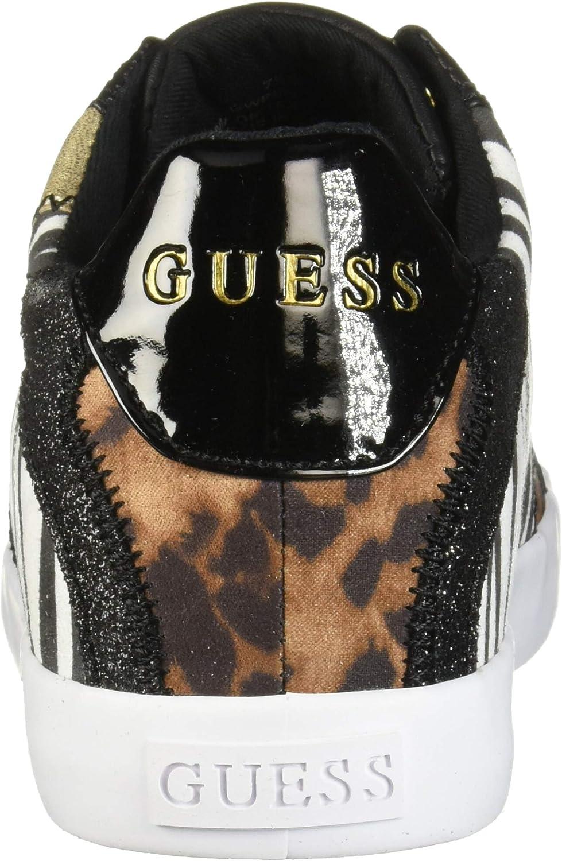 GUESS Women's Pemota Sneaker Black