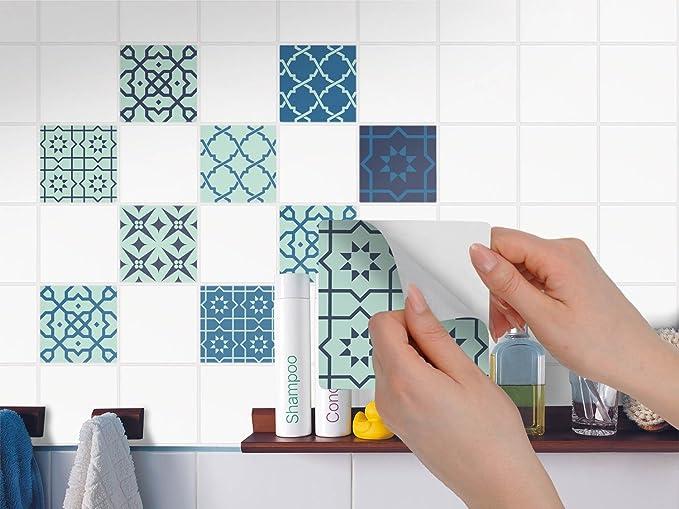 Piastrelle decorazione design adesivo adesivi sticker autoadesivi