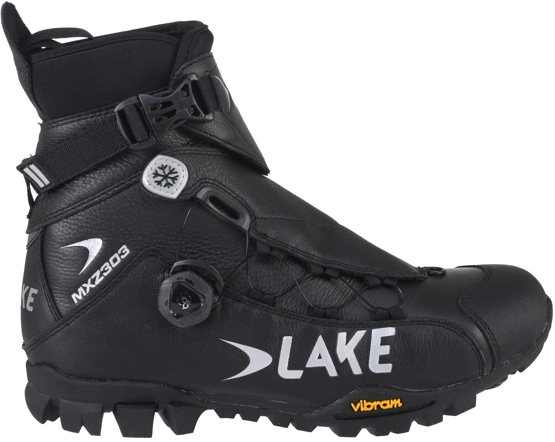 Lake MXZ 303 Winter Boot - Men's Black, 47.0 by Lake