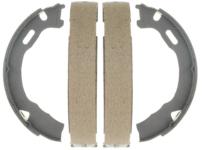 ACDelco 17791B Professional Bonded Rear Parking Brake Shoe Set