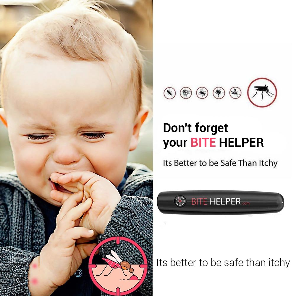 AUKUK Bite Helper, Anti Itch Bite Helper Mosquito Reliever Bite Helper Itching Relieve Pen for Child Adult Face Body Home Outdoor Travel Wild, Camping Mosquito Bites Itch Relief Solution