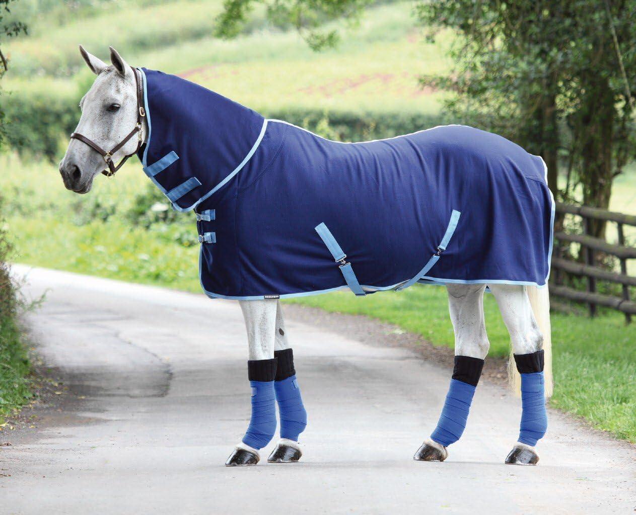 Bridleway–Forro polar Combo alfombra–azul marino/azul pálido