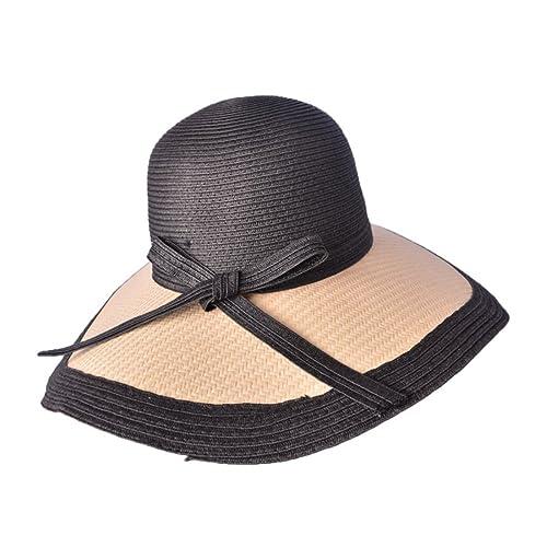 La Primavera Y El Verano Sombrero De Paja Femenino Sombrero De Vacaciones Al Aire Libre Sombrero De ...