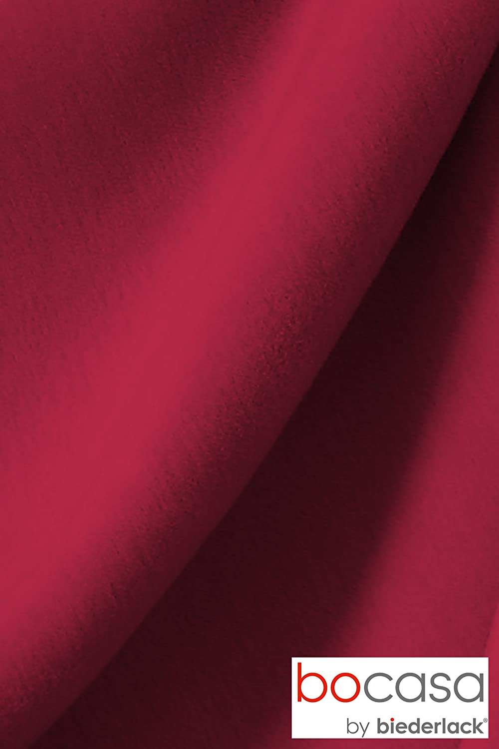 Bocasa by biederlack 66338 Couverture Cotton Pure Env 150 x 200 cm 100/% coton Terracotta